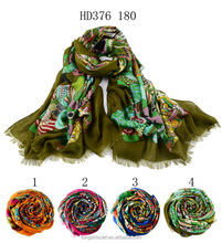HD376 180 dresses of party for girls of 10 years hijab shawl and scarves European style supplier alibaba china
