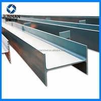 Steel H beam standard sizes for building use