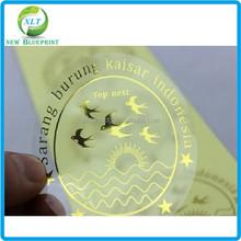 Cheap self adhesive clear BOPP/PP/PE /PET/ PVC label ,custom logo gloss sticker