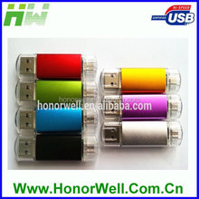 New USB Connector Mobile Phone USB Stick Connecting to Smart Phone USB Flash Drive 8GB