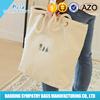 wholesale price plain white cotton bag