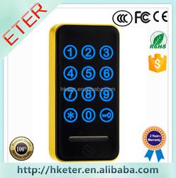 Keyless digital lock Electronic password cabinet lock with wristband ET118PW