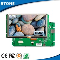 """8"""" industrial A+ class LCD with lvds tft screen for bus dashboad HMI"""