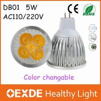 Energy Saving Long Spanlife 5w Led Spotlight E27 Dimmable Lamps for home