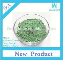 ceramic pigment polish tile raibow colors pearl pigment Apple Green 926682 pigment for pottery