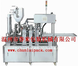 High Speed hot sale good quality PCF milk / yougurt cup filler and sealer