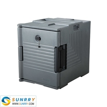 Restaurant Equipment Ultra Carts Food Pan PE Ultra Carts Food Carriers Brown gray Insulated Food Pan Carrier (SY-SC14A SUNRRY)