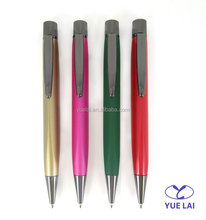 Newest design metal triangle shape advertising pen