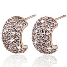 Cluster diamond earring wholesale women earring