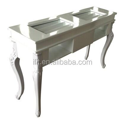 Pas cher nail table table de manucure manucure p dicure for Mesa manicura segunda mano