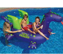 high quality and hot-sale inflatable dragon pool toy floats for sale