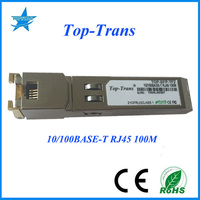 Made in China Compatible optical fiber 10/100Base-T RJ45 100m