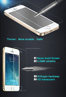 9H hardness 2.5D round edge tempered glass screen protector for smartphone