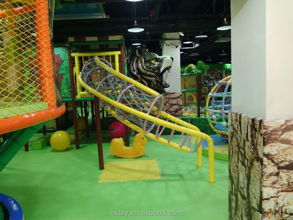 New design indoor playground equipment for preschool theme for Indoor gym equipment for preschool