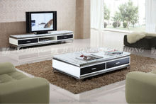 Living Room Furniture glass TV stand
