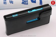 2015 Luxury Genuine Leather Phone Cases for Nokia lumia N920
