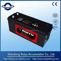 Sealed maintenance free heavy duty truck batteries 12v