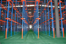 Drive Through Shelving System for Cold Storage