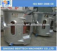 3t steel melting smelter/ steel tilting smelter/steel electric induction furnace
