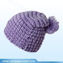 Unisex Women Knit Baggy Beanie Beret Winter Warm Oversized Ski Cap