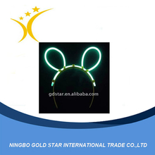 Pretty cute glow LED plush bunny ears
