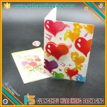 ขายส่งหรูหราตกแต่งที่ทำด้วยมือบัตรอวยพรวันเกิด3dการ์ดแต่งงานกระดาษ
