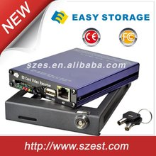 High Quality 2CH 4CH Car DVR 12V Full HD free CMS Software Tracking system
