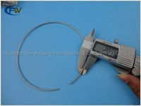 Manufacturer LED ceiling light retaining spring clips stainless steel steel c clip wire ring for downlight