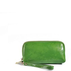2015 One Color Patent Leather Cosmetic Bag
