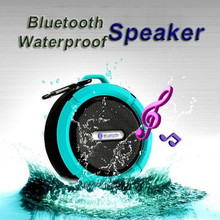 green tech mini hi fi speaker C6 with bluetooth and waterproof function