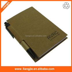 OEM personalized craft notepads and pens with logo