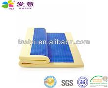 Cool max gel memory foam mattress topper AY-T04