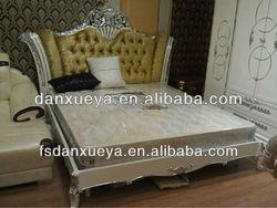 danxueya 2015 Hot Sale King Size Bed Luxury antique bedroom furniture
