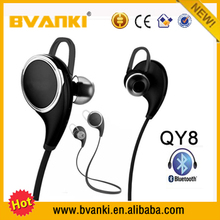 2016 mobile accessories consumer electronics sports direct QY8 Wireless Stereo Bluetooth Headphone/Headsets/Earphone with V4.1