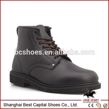 men leather shoes/military officer shoes/Top-grade leather black upper Jungle Boots