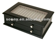 Wooden display gift box for 26pieces pens