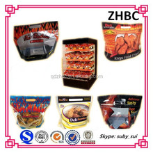 plastic hot food bag / hot chicken bag