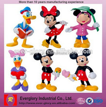 Plástico mickey minnie mouse, oem mickey minnie mouse pvc figura