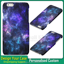 bulk print Purple Sky skin cove pc Phone Case for iPhone 6,hard cover for iphone 6
