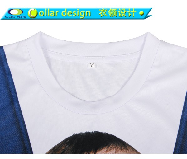 Cheap wholesale 100 polyester bulk white custom printing for Custom printed t shirts in bulk