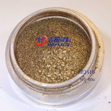 China Pigments Mica Pearlescent Pigment Sheenbow Recolored Pearls Bronze Brown SB3410