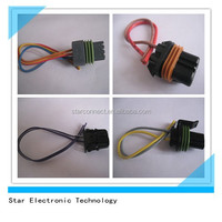 OEM/ODM china factory customized 2 wires harness cable assemblies