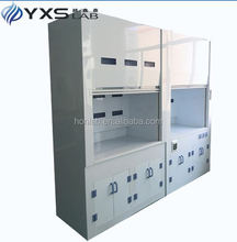 CE certificated aesthetic white university exhaust fume cupboard
