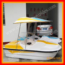 Water games fiberglass paddle boat used pedal boats for sale