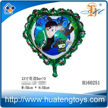 Wholesale custom heart shaped foil helium balloon hot air balloon price