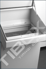 TIBOX hot sale high quality metal enclosure distribution box metal operation desk, sheet metal process OEM service