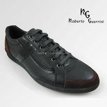 Best selling men top quality cowskin men's tennis sport shoes