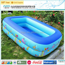 high quality hard plastic inflatable swim pool for baby product