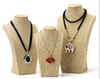 Linen Jewelry Display Necklace Counter Showcase In Bulk Buy From China