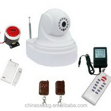 new IP video alarm camera with HD image sensor can report alarm and video to CMS